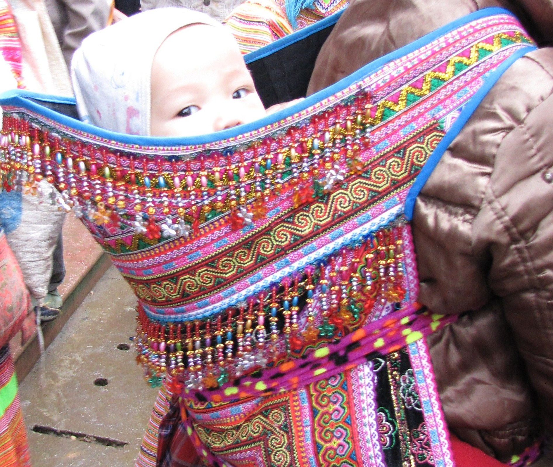 tissu africain pour porter bebe