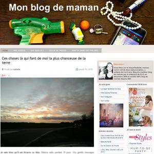 mon blog de maman